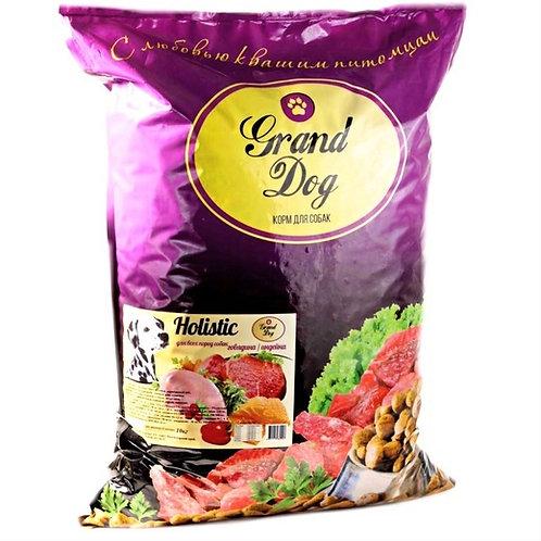 Grand Dog Holistic говядина/индейка для всех пород от года