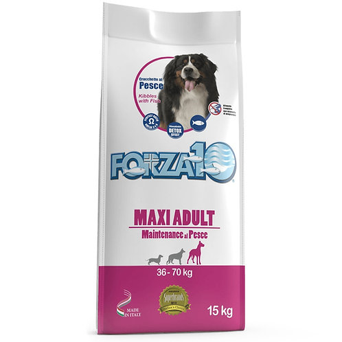 FORZA10 Maxi Adult Maintenance для крупных пород из рыбы