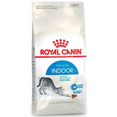 Royal Canin Indoor 27 Роял Канин Сухой корм для домашних кошек, с нормальным вес