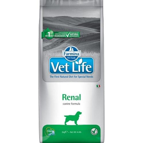Farmina Vet Life Renal Сухой корм для собак при почечной недостаточности