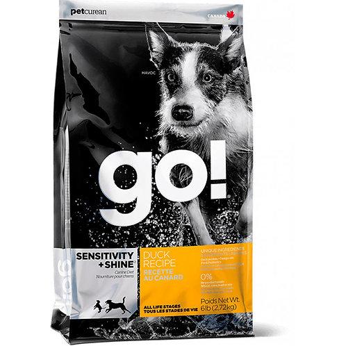 Go Natural Sensitivity Shine Duck Dog Гоу Корм для собак и щенков с уткой и овся