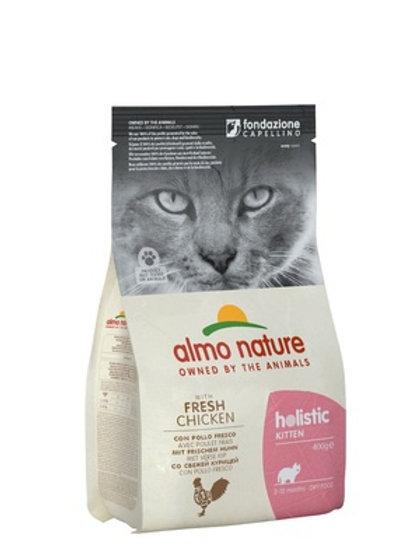 Almo Nature для котят, с курицей и коричневым рисом