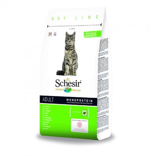 Schesir Adult Сухой корм для взрослых кошек (с ягненком)