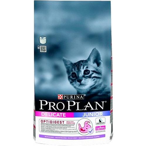 Purina Pro Plan Junior Delicate Корм для котят с индейкой и рисом