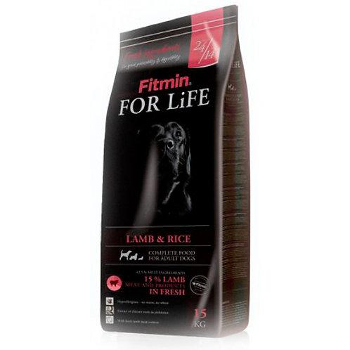 Fitmin For Life Lamb & Rice Корм для собак всех пород с ягненком и рисом