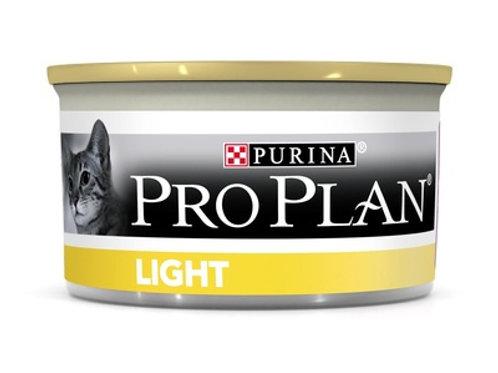 Purina Pro Plan для взрослых кошек с избыт. весом, кусочки с индейкой, в соусе