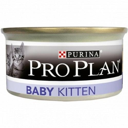 Purina Pro Plan консервы мусс для котят, с курицей