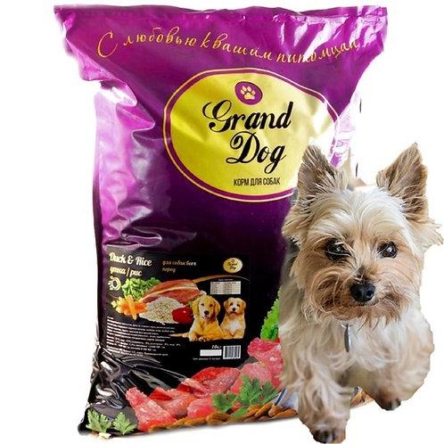 Grand Dog Утка/рис для собак всех пород от года