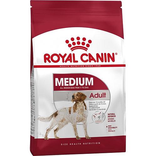 Royal Canin Medium Adult для взрослых собак средних размеров: 11-25 кг, 1-7 лет