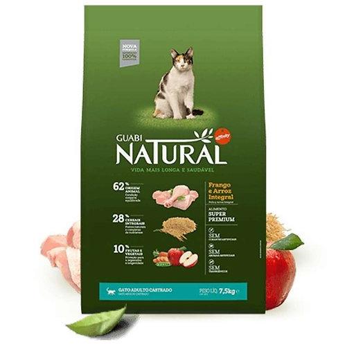 Guabi Natural Castrate Chiken & Rice для кастрированных кошек цыпленок рис