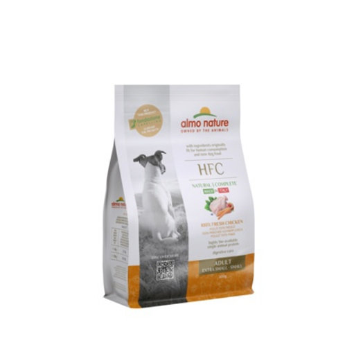 Almo Nature для взрослых собак карликовых и мелких пород, со свежей курицей