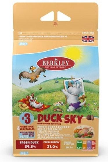 Berkley утка с овощами, фруктами и ягодами, для взрослых собак