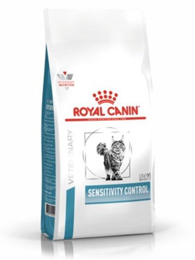 Royal Canin sensitivity control для кошек при пищевой аллергии, с уткой