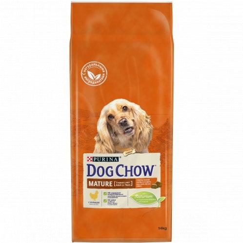 Dog Chow для взрослых собак старше 5 лет, с курицей