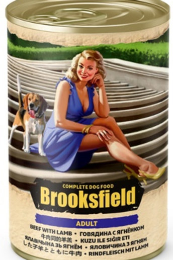 Brooksfield корм для собак, с говядиной, ягнёнком и рисом