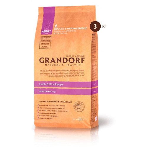 Grandorf Lamb & Rice Adult Maxi Грандорф для крупных пород ягненок