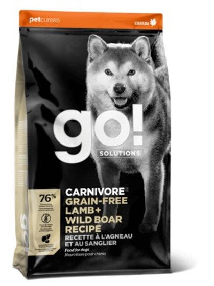 GO grain-free lamb wild boar Гоу беззерновой для собак всех возрастов, c яг