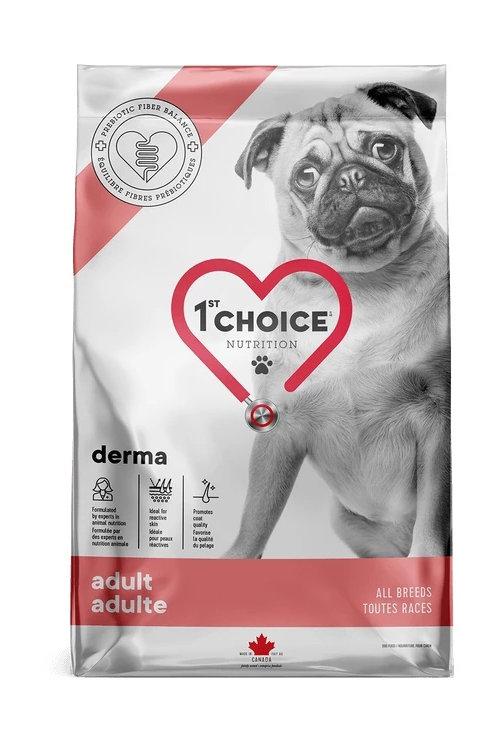 1St Choice GF Derma - Беззерновой корм для собак с чувствительной кожей, с лосос