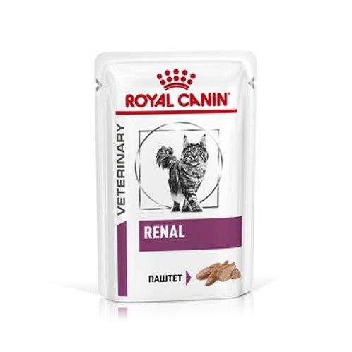 Royal Canin renal паштет для кошек при хронической почечной недостаточности