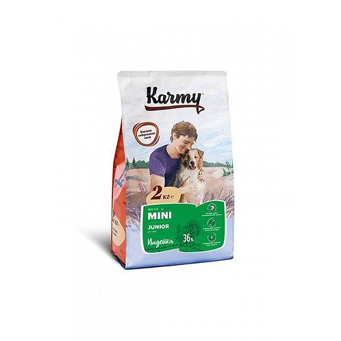 Karmy Mini Junior Карми Сухой корм для щенков мелких пород с индейкой