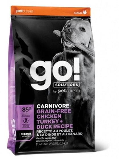 GO carnivore 4 vida myasa pozilie Гоу беззерновой для пожилых собак всех пород 4
