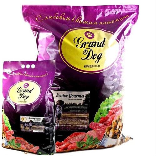 Grand Dog Senior Gourmet  для пожилых собак индейка/ягненок