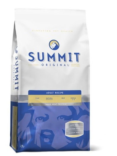 Summit для собак три вида мяса: ягненок, цыпленок и лосось
