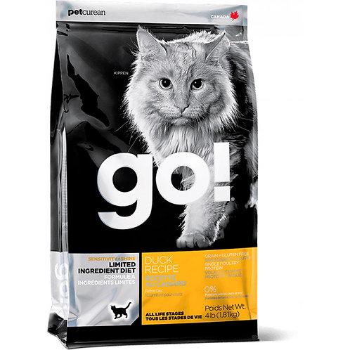 Go Natural Sensitivity Shine Duck Cat Гоу Корм для котят и кошек с чувствительны