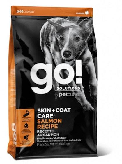 Go Skin+coat care salmon recipe Гоу для щенков и собак, со свежим лососем и овся