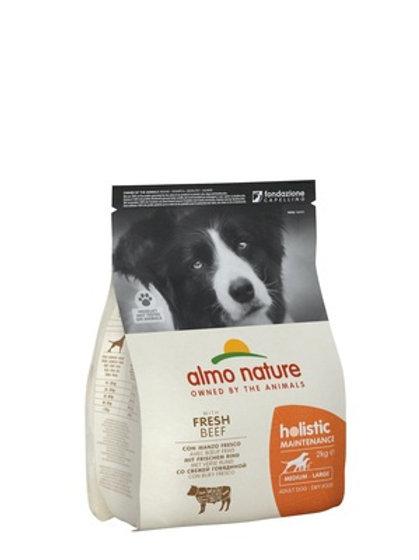 Almo Nature для взрослых собак средних пород, с говядиной