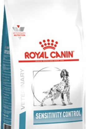 Royal Canin veterinary sensitivity control для собак с пищ. непереносимост.,утка
