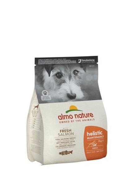 Almo Nature для взрослых собак малых пород, с лососем