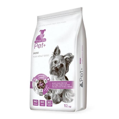 The Pet+ беззерновой со свежей дичью для взрослых собак малых пород