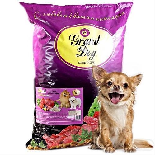 Grand Dog Mini говядина для собак мелких пород от года