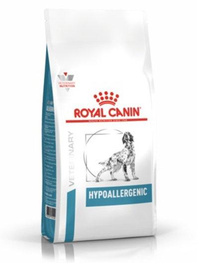 Royal Canin veterinary hipoallergenic для собак с пищевой аллергией