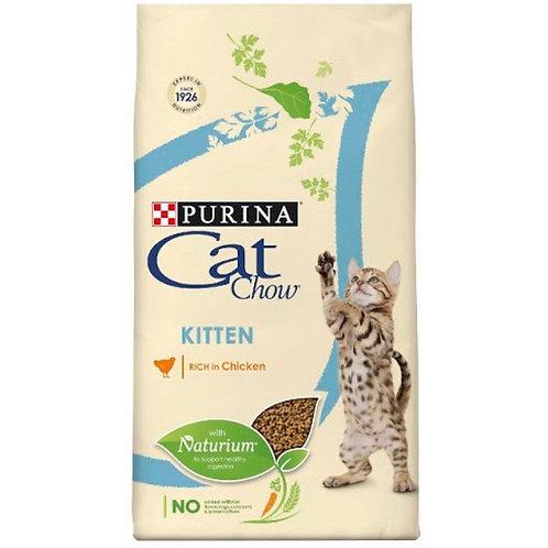 Cat Chow Kitten Chicken Корм для котят с курицей