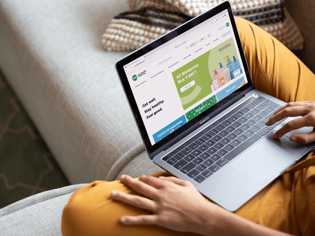 The renewed CHS Community Pharmacy brand & e-commerce site have just launched