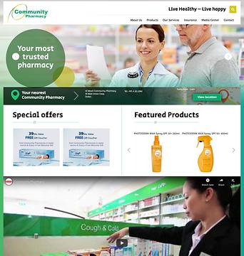CHS Community Pharmacy status before reb