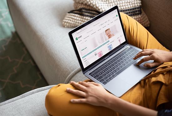 CHS Community Pharmacy rebrand e-commerce case study