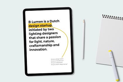 B-Lumen - Positioning & brand development