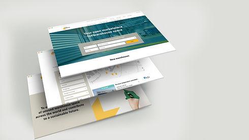 Eye4Storage website design