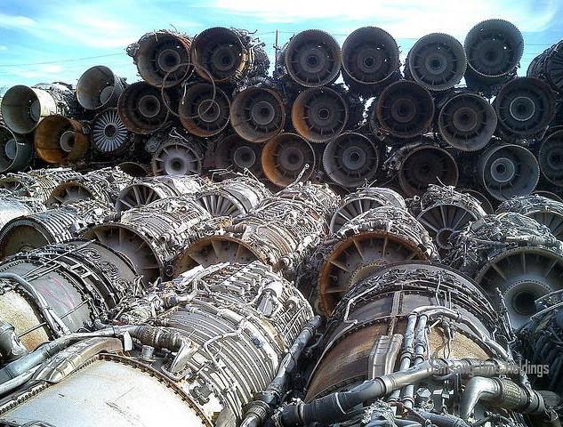 Scrap Jet Engine Recycling