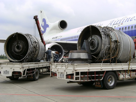Jet Engines Currently Destined for Scrap Jet Engine Recycling
