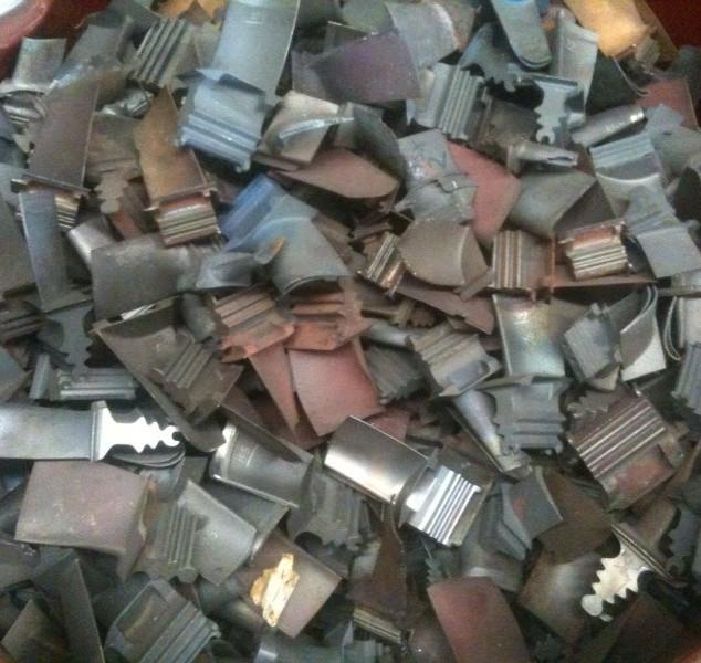 Scrap Turbine Blade Recycling