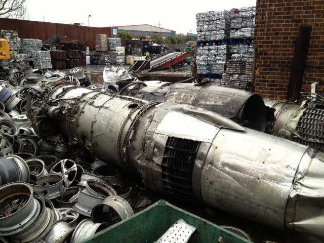 Scrap F100 jet engines