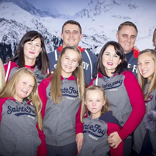 Skinner Family St Foy Jan 2018