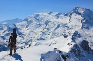 Adam on the Folliet ridge
