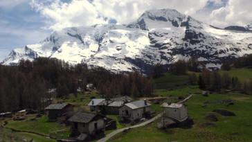 Monal Village Mountain timelapse