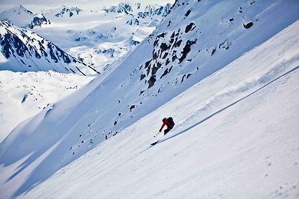 Warwick Pickering Valdez ski descent