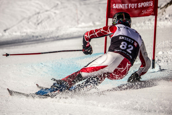 Ski Racer Saint Foy Tarentaise